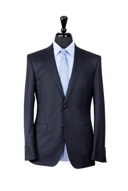 Asser S150s Navy Suit