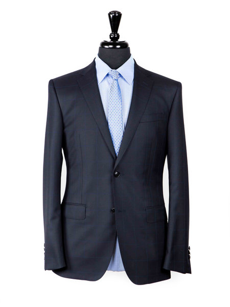 League of Rebels Asser S150s Navy Suit