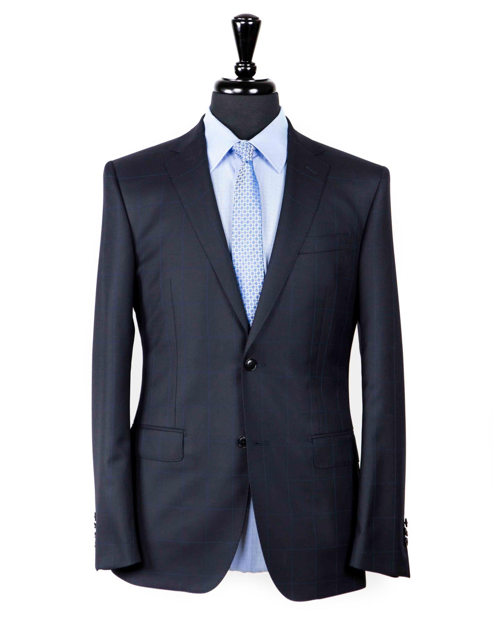 Asser S150s Navy Suit-1