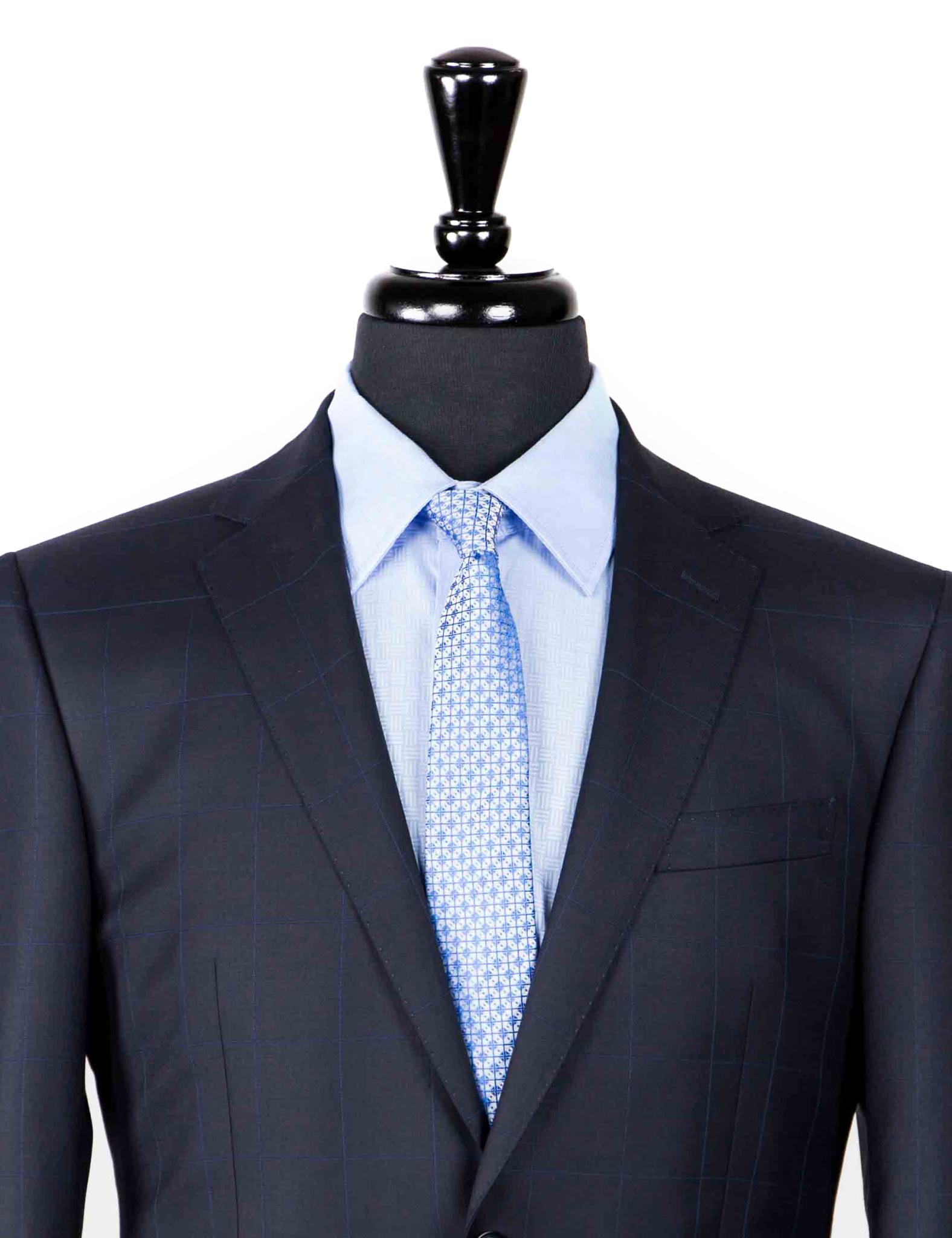 Asser S150s Navy Suit-2