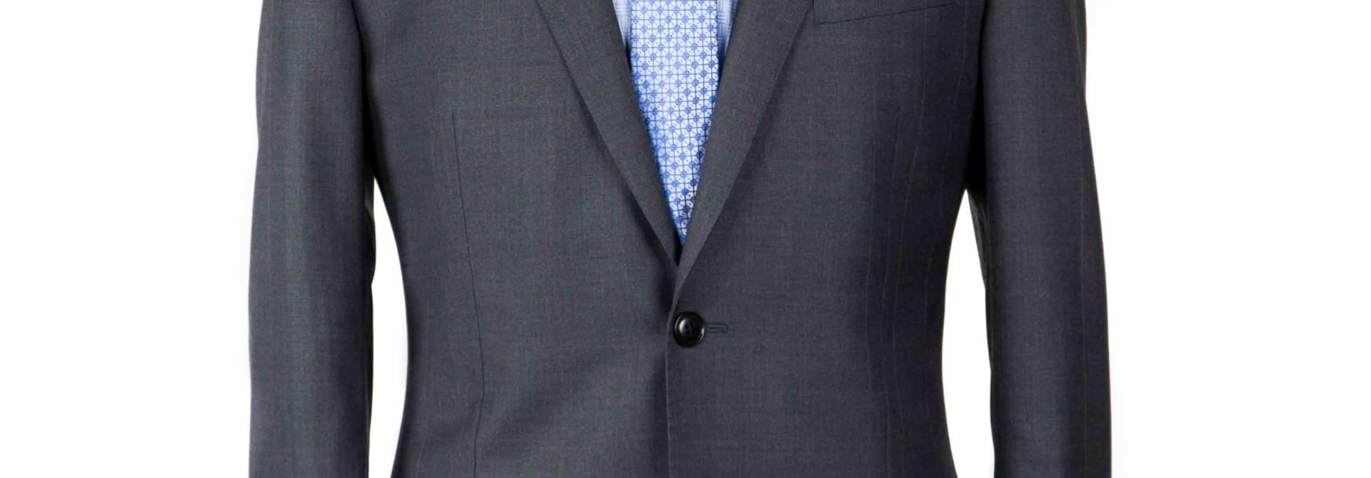 Asser S150s Grey Suit