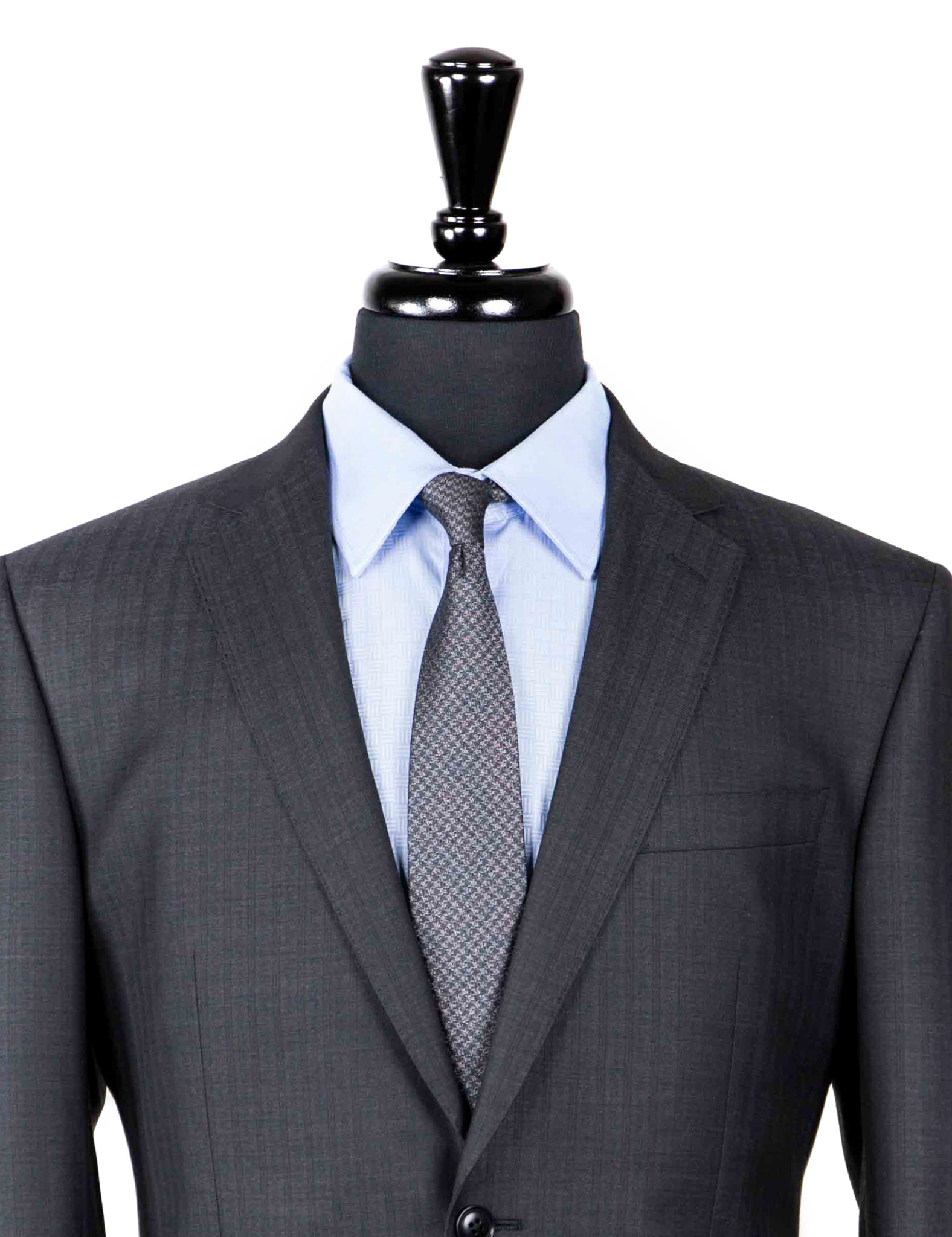 Rex S150s Charcoal Suit-2