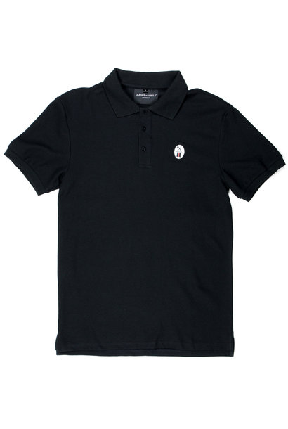 Essential Black Polo