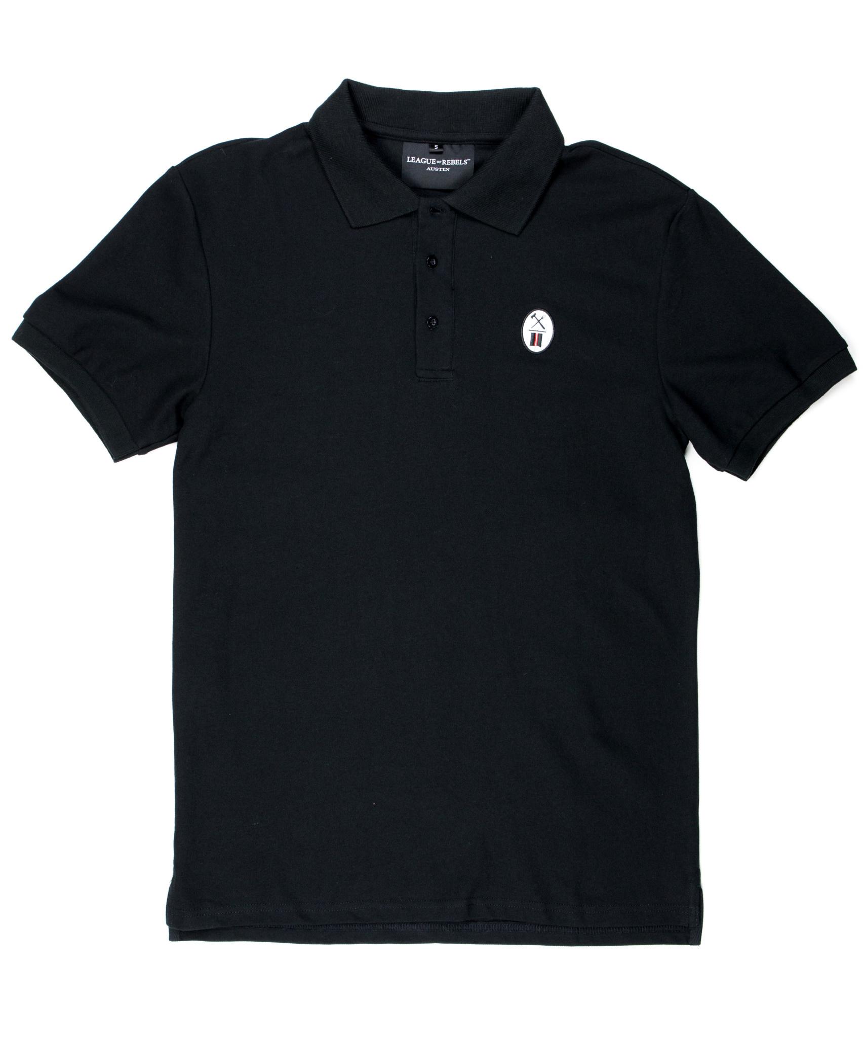 Essential Black Polo-1