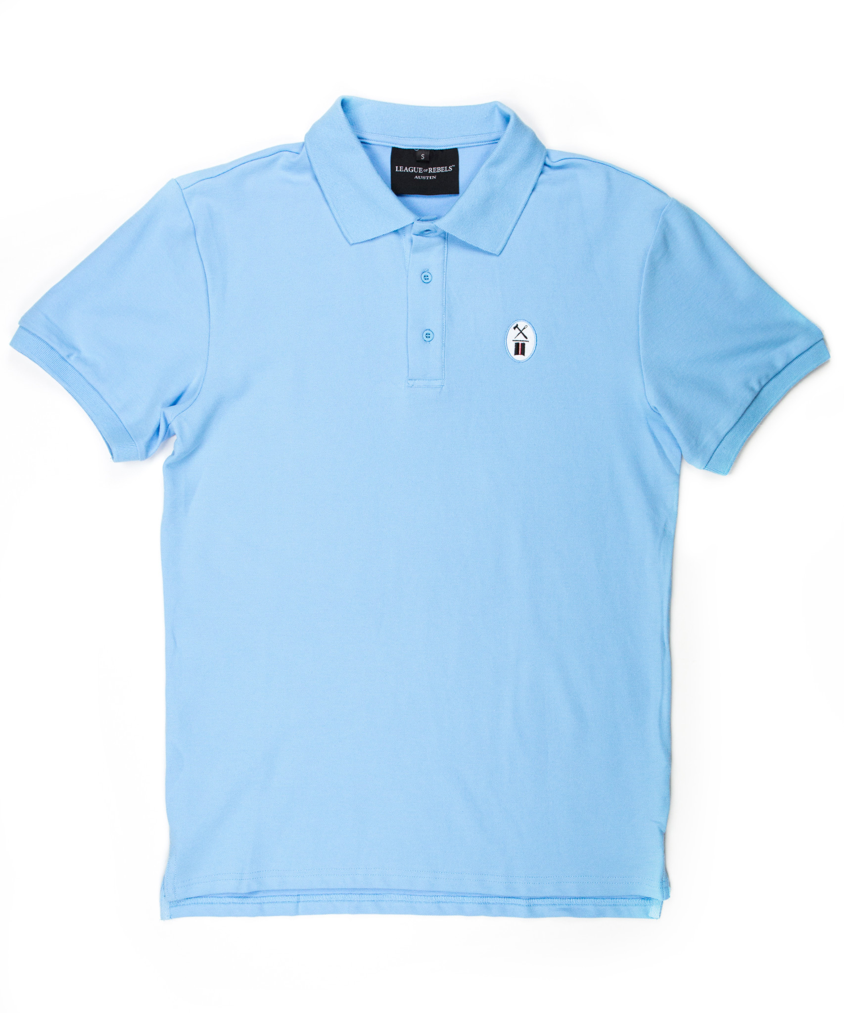 Essential Blue Polo-1