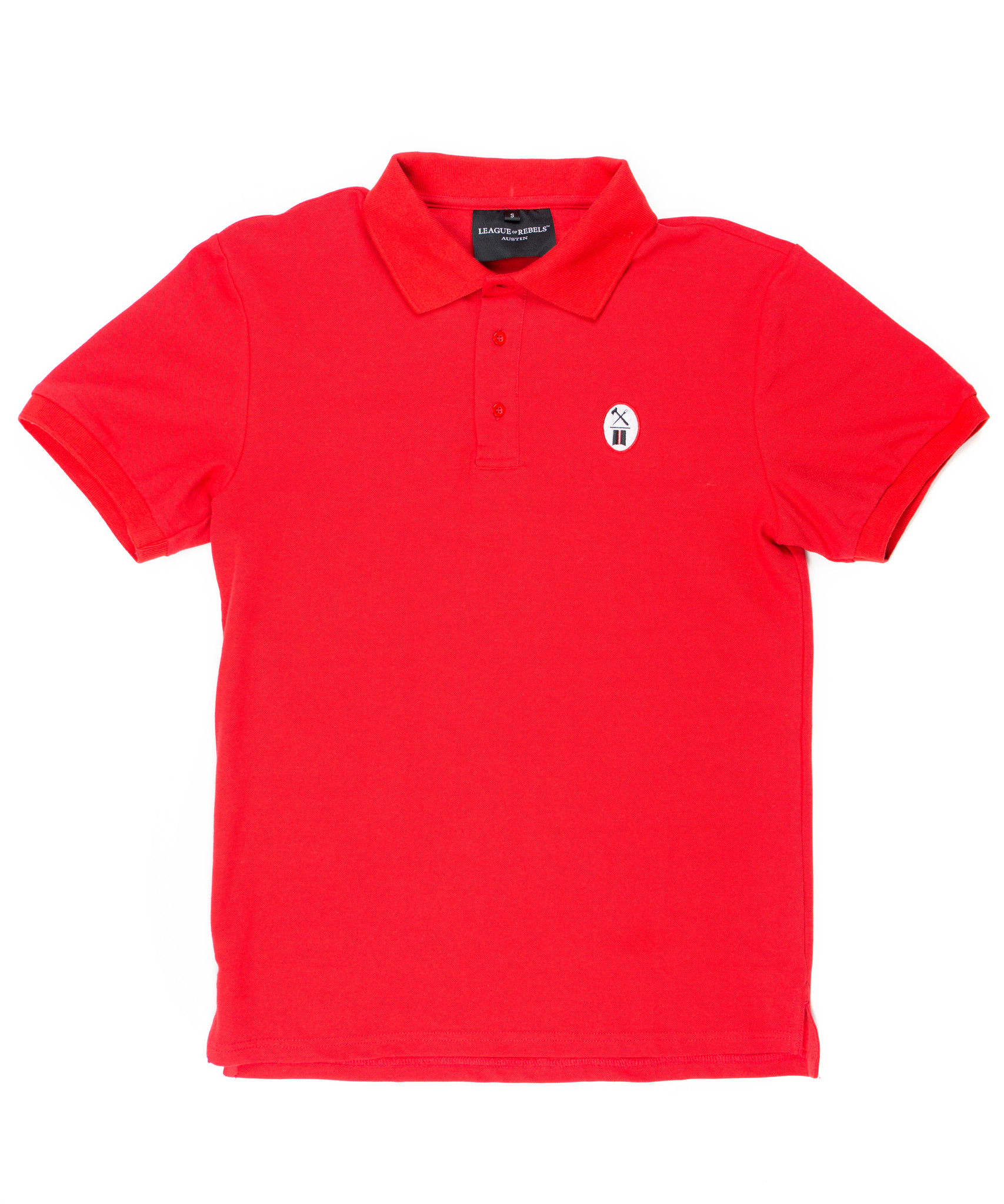 Essential Red Polo-1