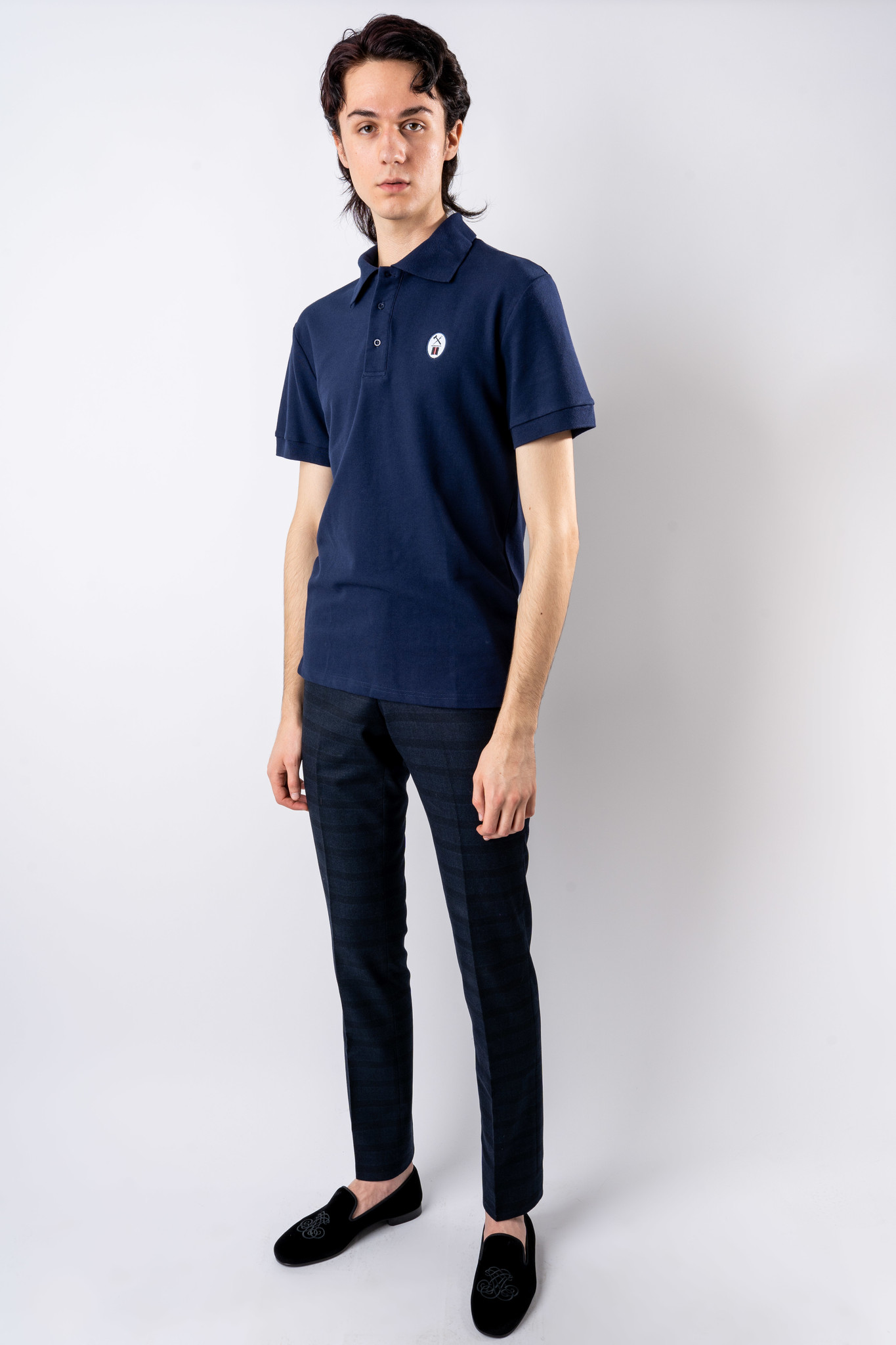 Essential Navy Polo-2