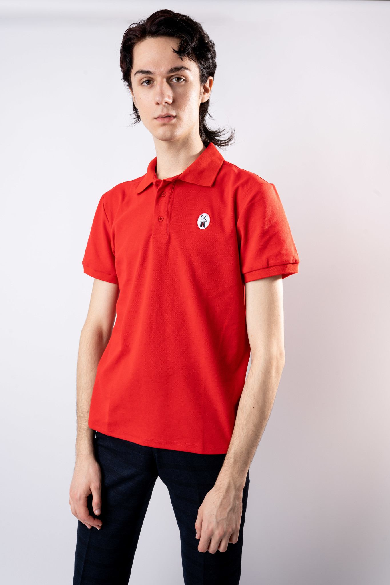 Essential Red Polo-2