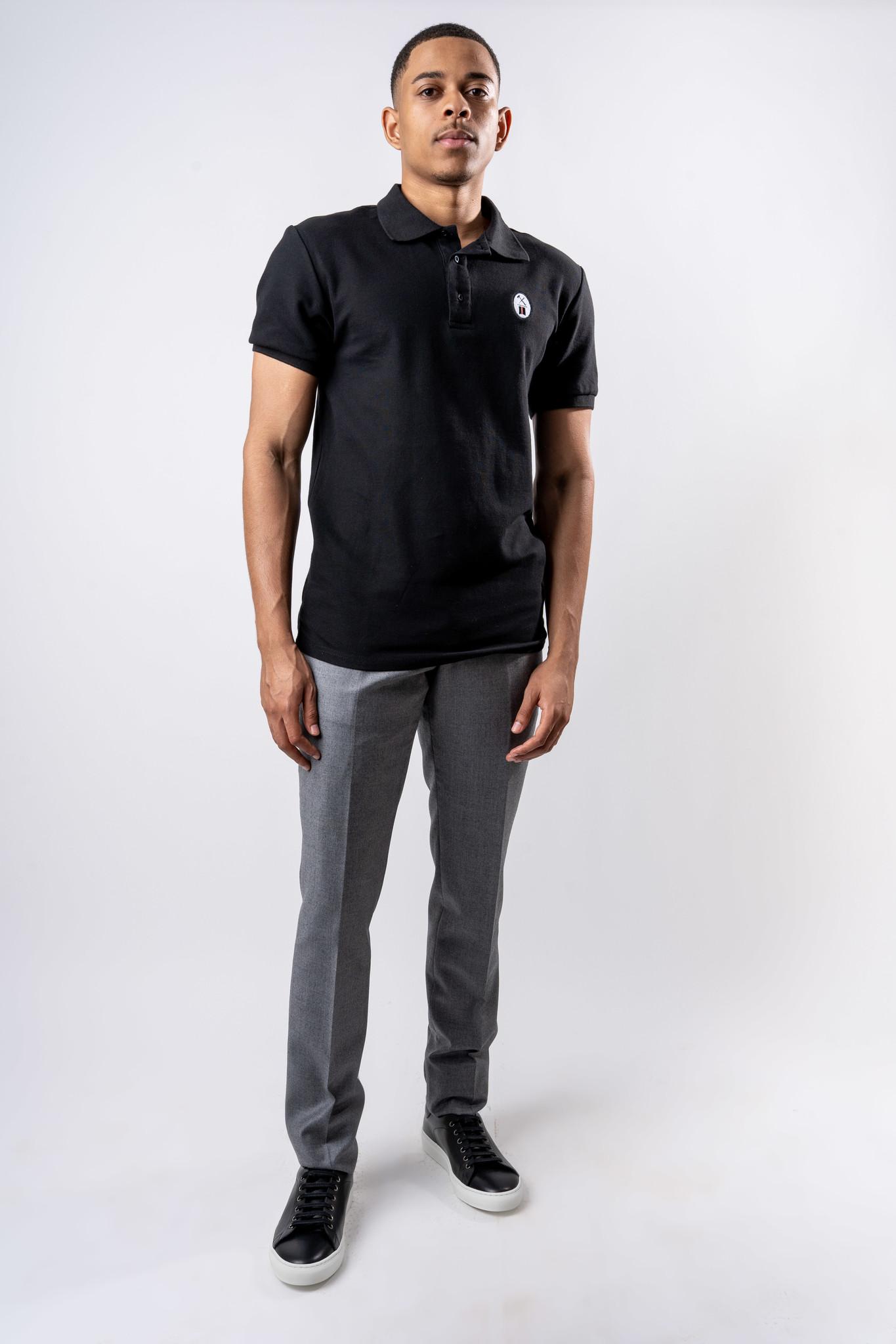 Essential Black Polo-2
