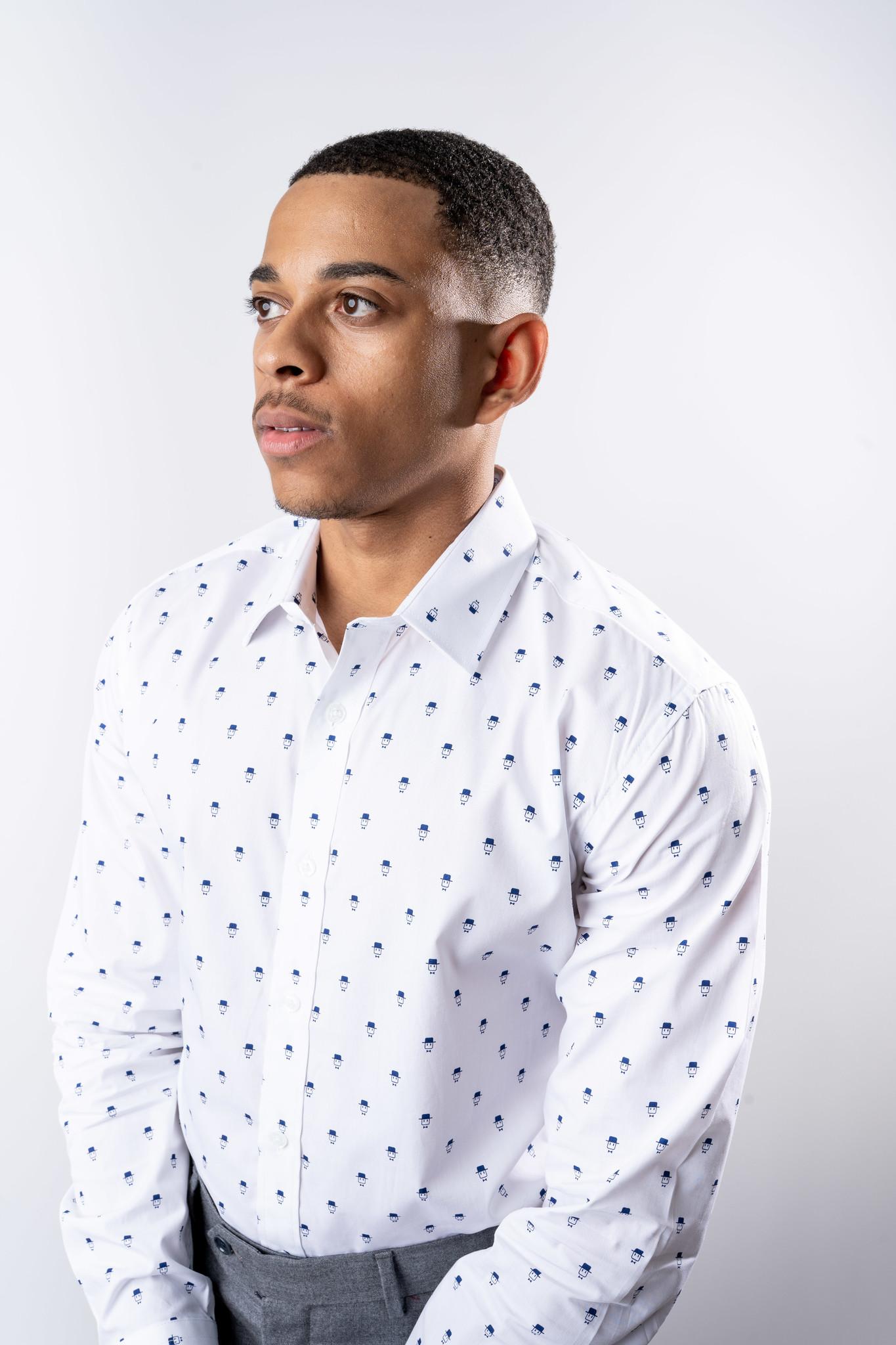 Bowler Dress Shirt-2