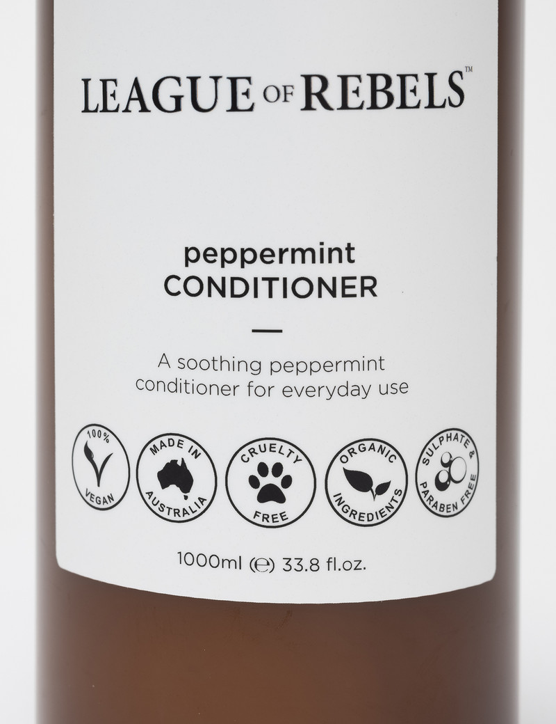 League of Rebels Peppermint Conditioner - 1000ml