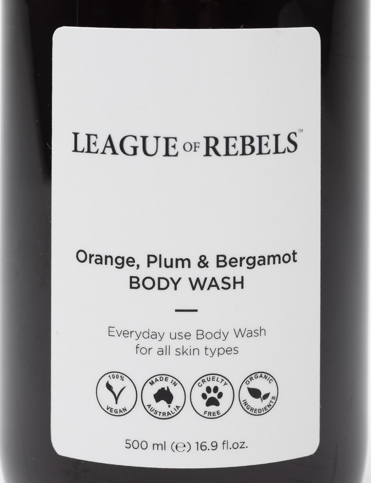 Body Wash - Orange + Plum + Bergamot-3