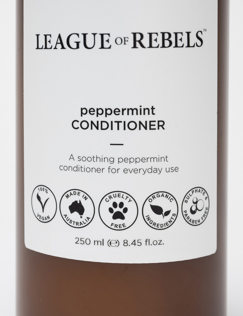 League of Rebels Peppermint Conditioner  - 250ml