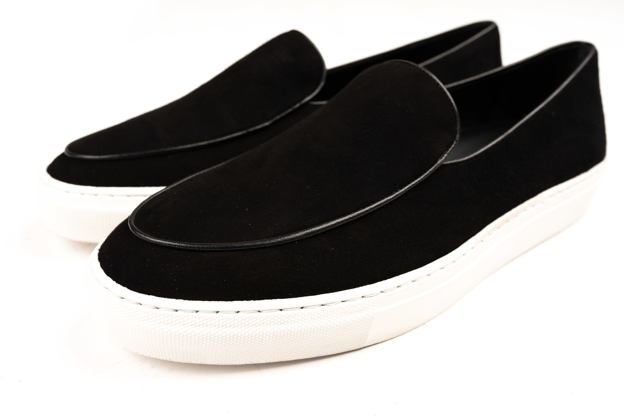 Black Suede Sneakers-4