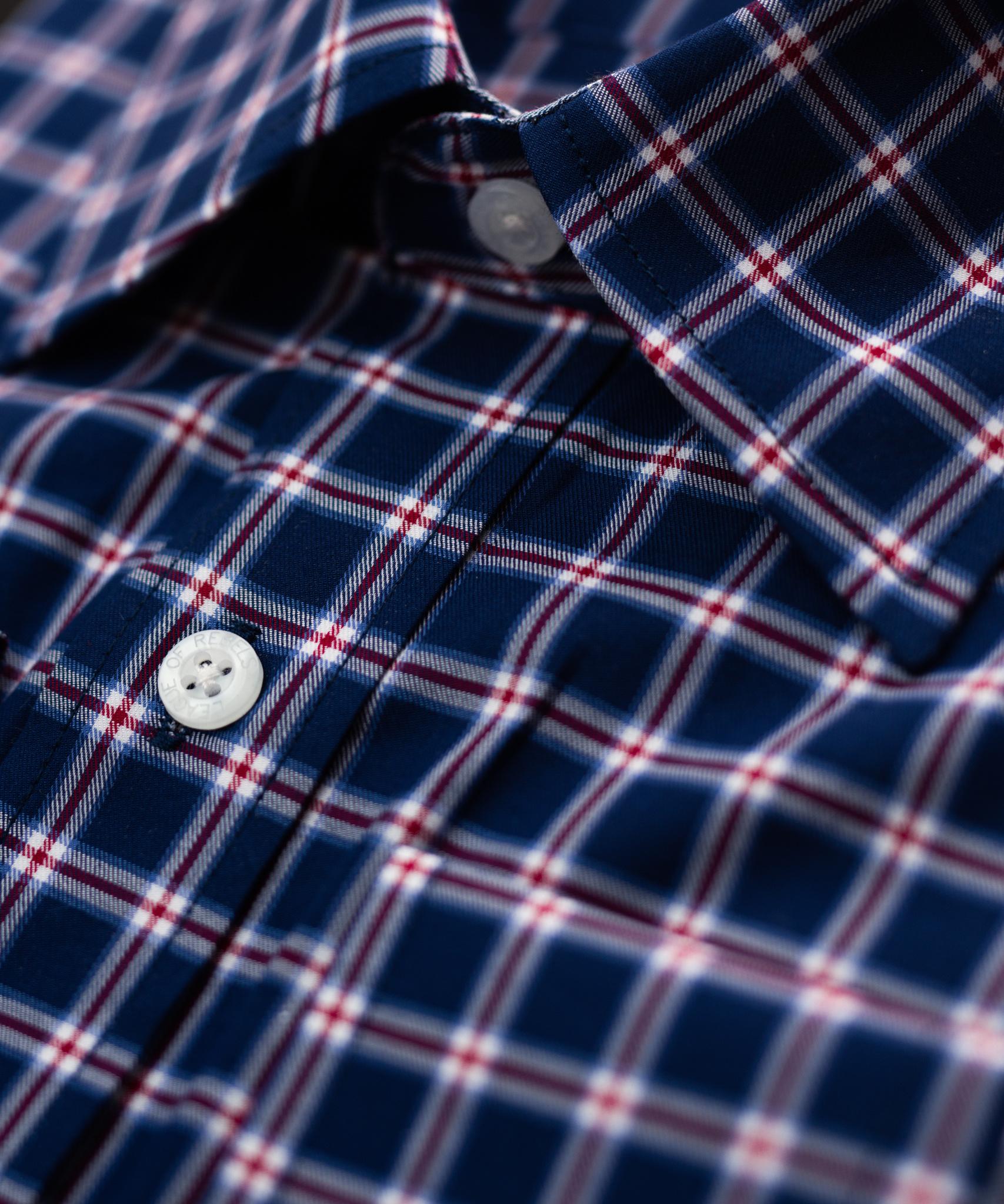 Allerton Maroon Shirt-2