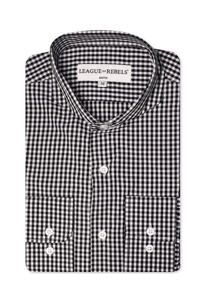 Bixby Black Check Shirt