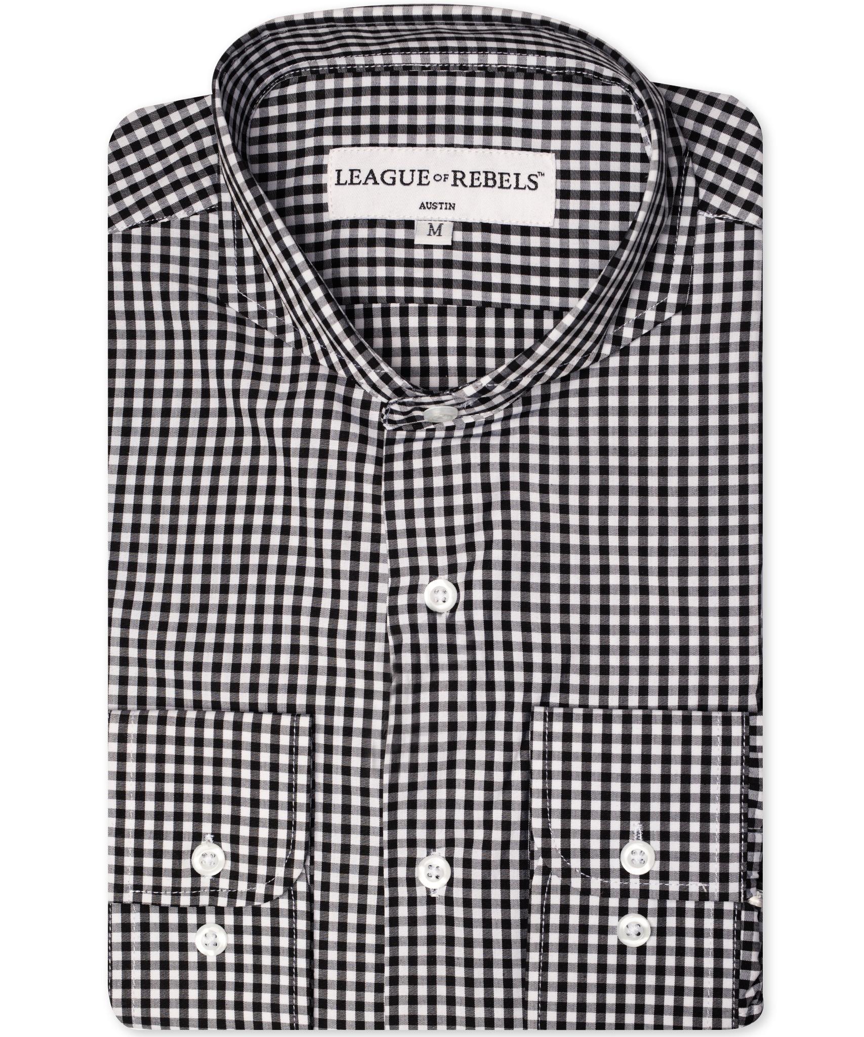 Bixby Black Check Shirt-1