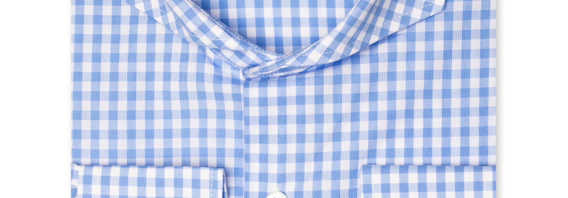 Bixby Blue Check Shirt
