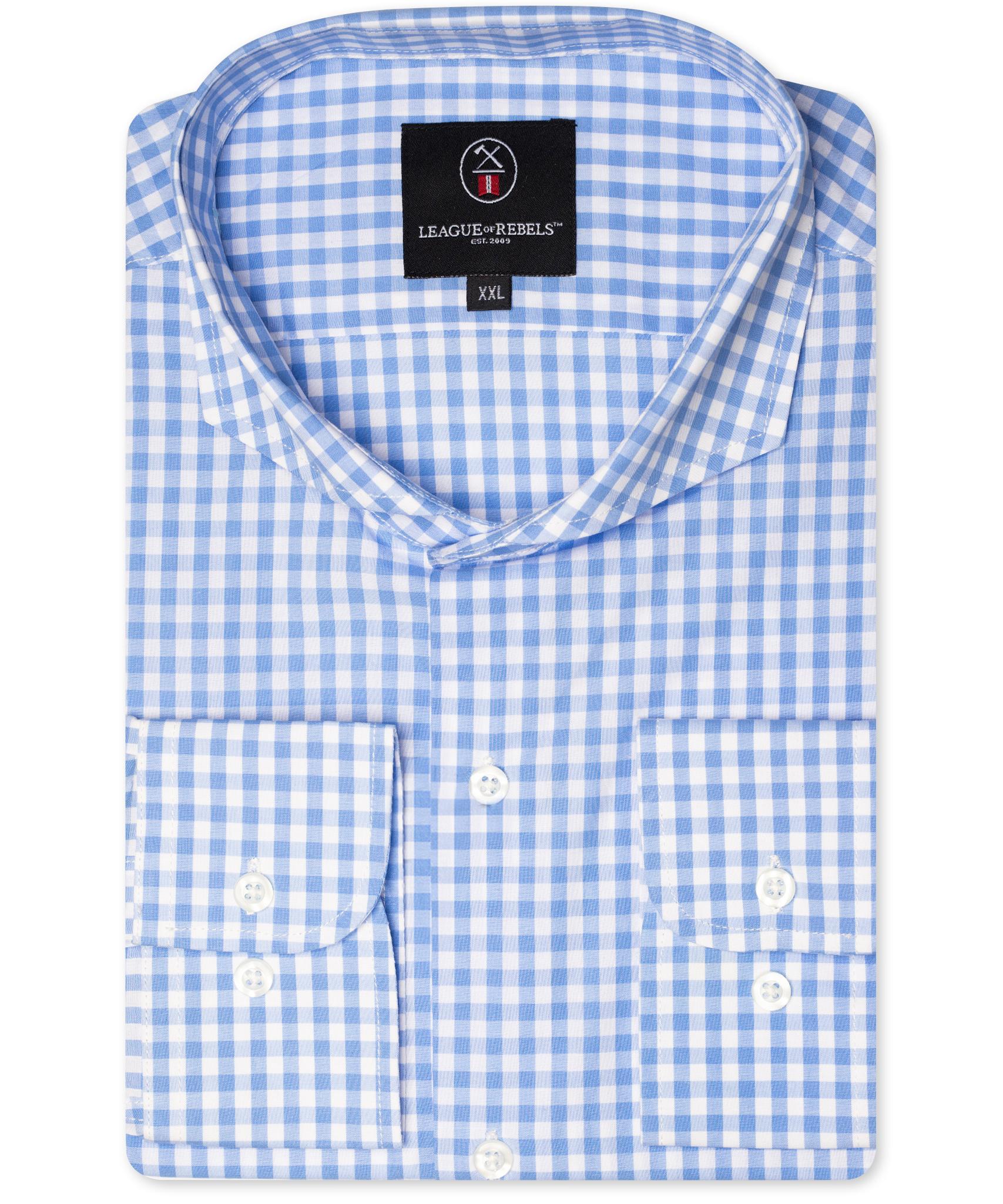 Bixby Blue Check Shirt-1
