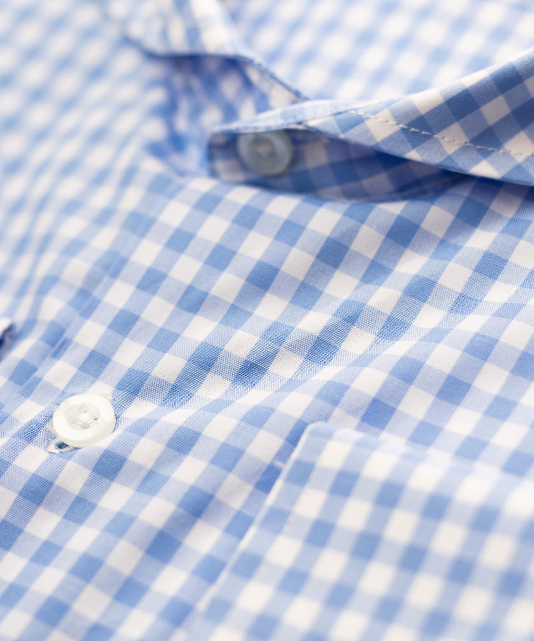 Bixby Blue Check Shirt-2