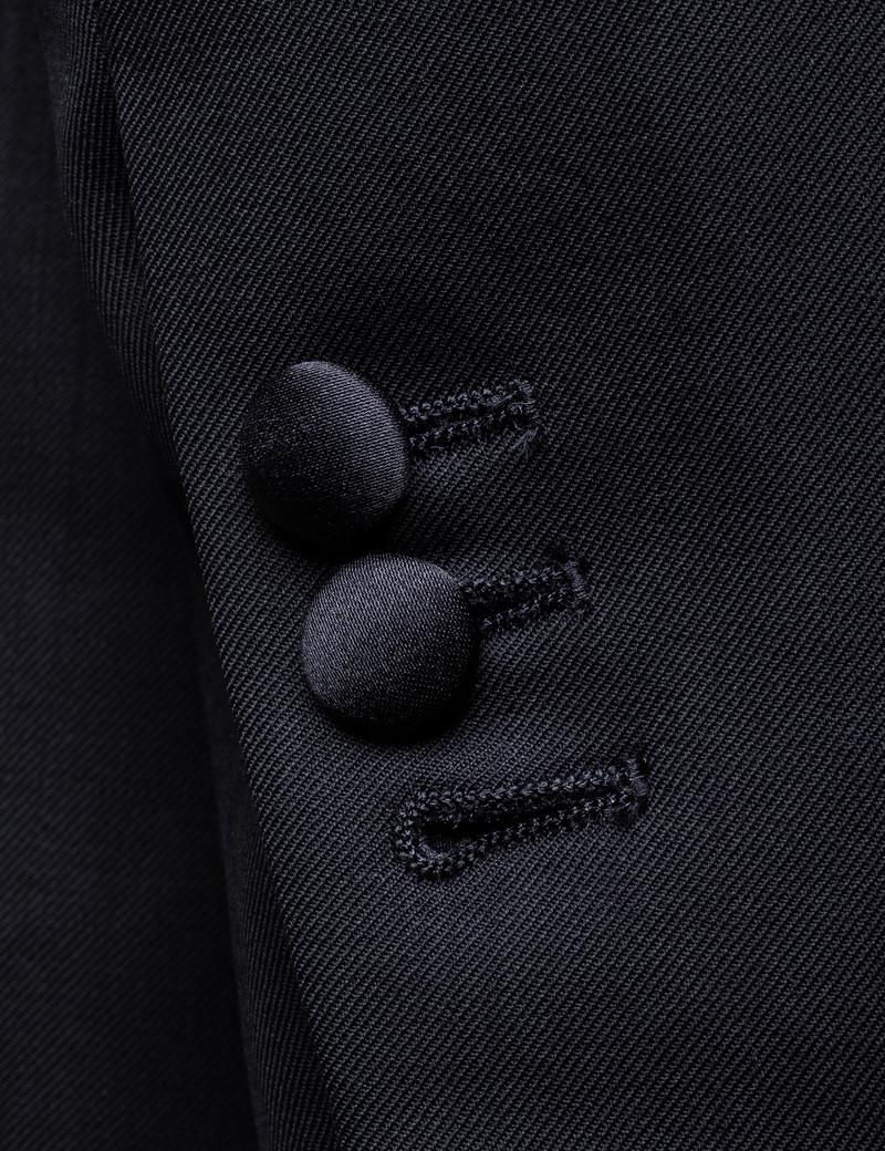 League of Rebels Classic Black Tuxedo Jacket