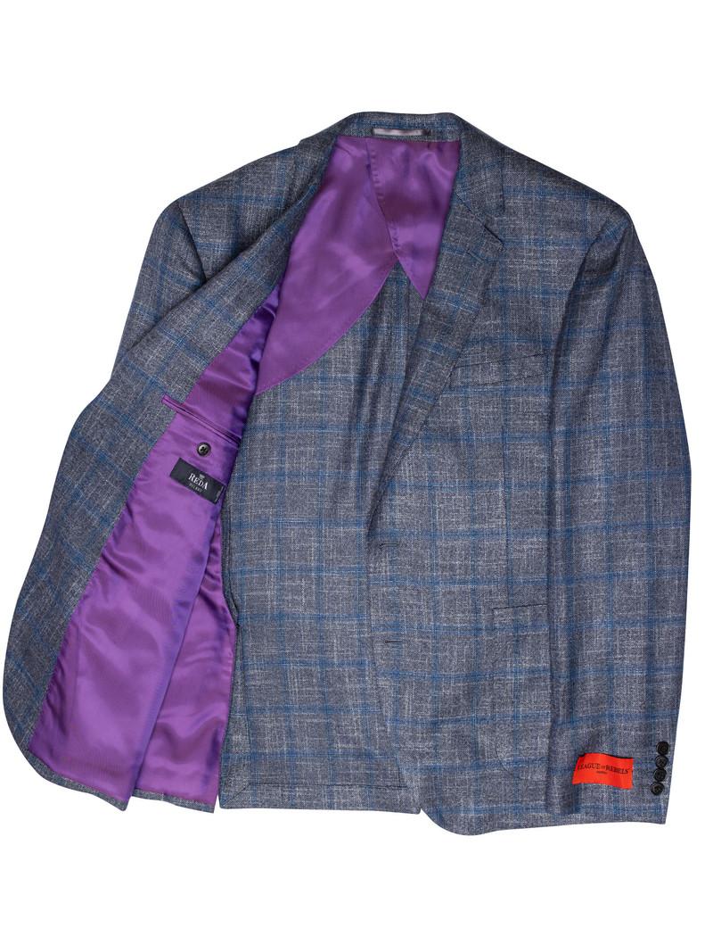 League of Rebels Blue Alpine Jacket