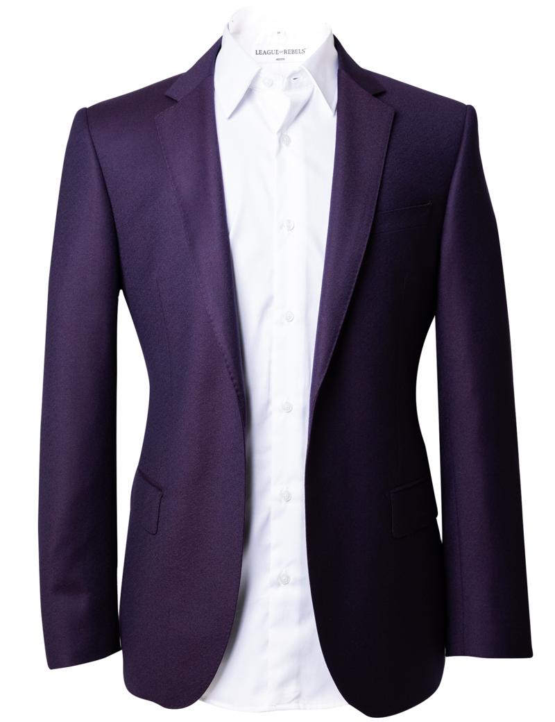 League of Rebels Ricco PurpleMix Suit