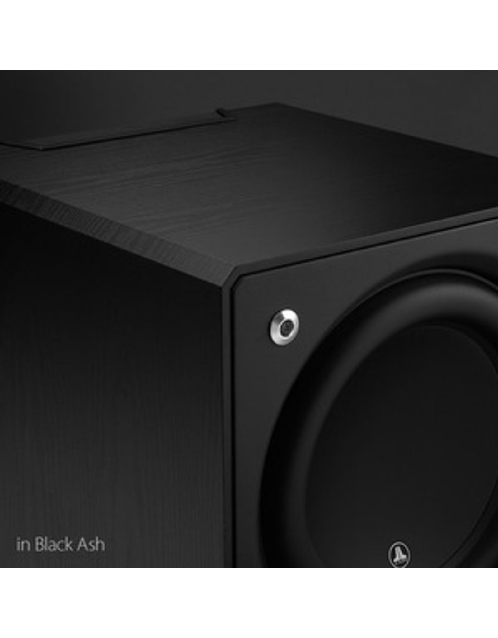 JL AUDIO JL AUDIO e110 10'' E-Sub 1200W Subwoofer, BLACK ASH 	•	343mm W x 362mm H x 419mm D