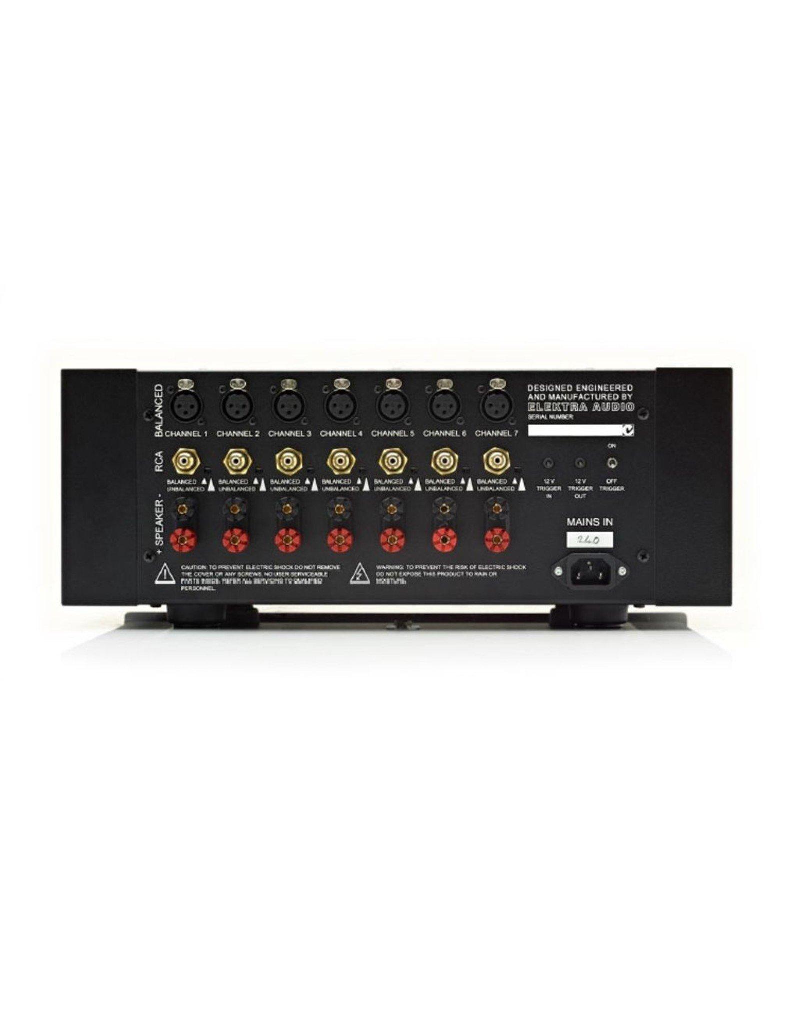 ELEKTRA ELEKTRA THEATRE HD2 7 CHANNEL POWER AMPLIFIER