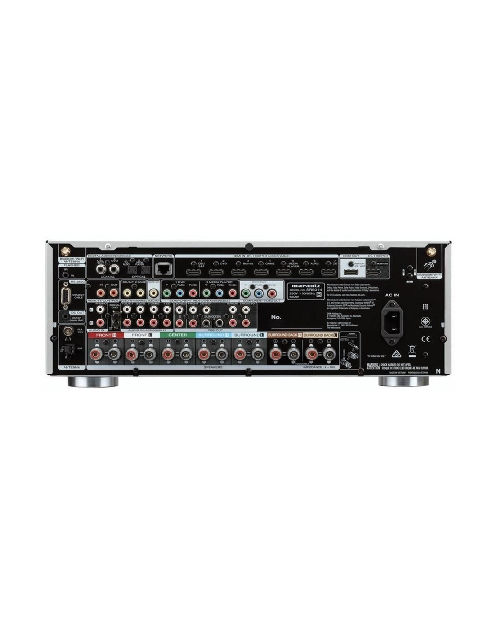 MARANTZ MARANTZ SR5014 7CH Receiver w/Heos BLACK