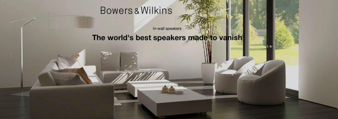 Bowers and Wilkins In Wall Speakers