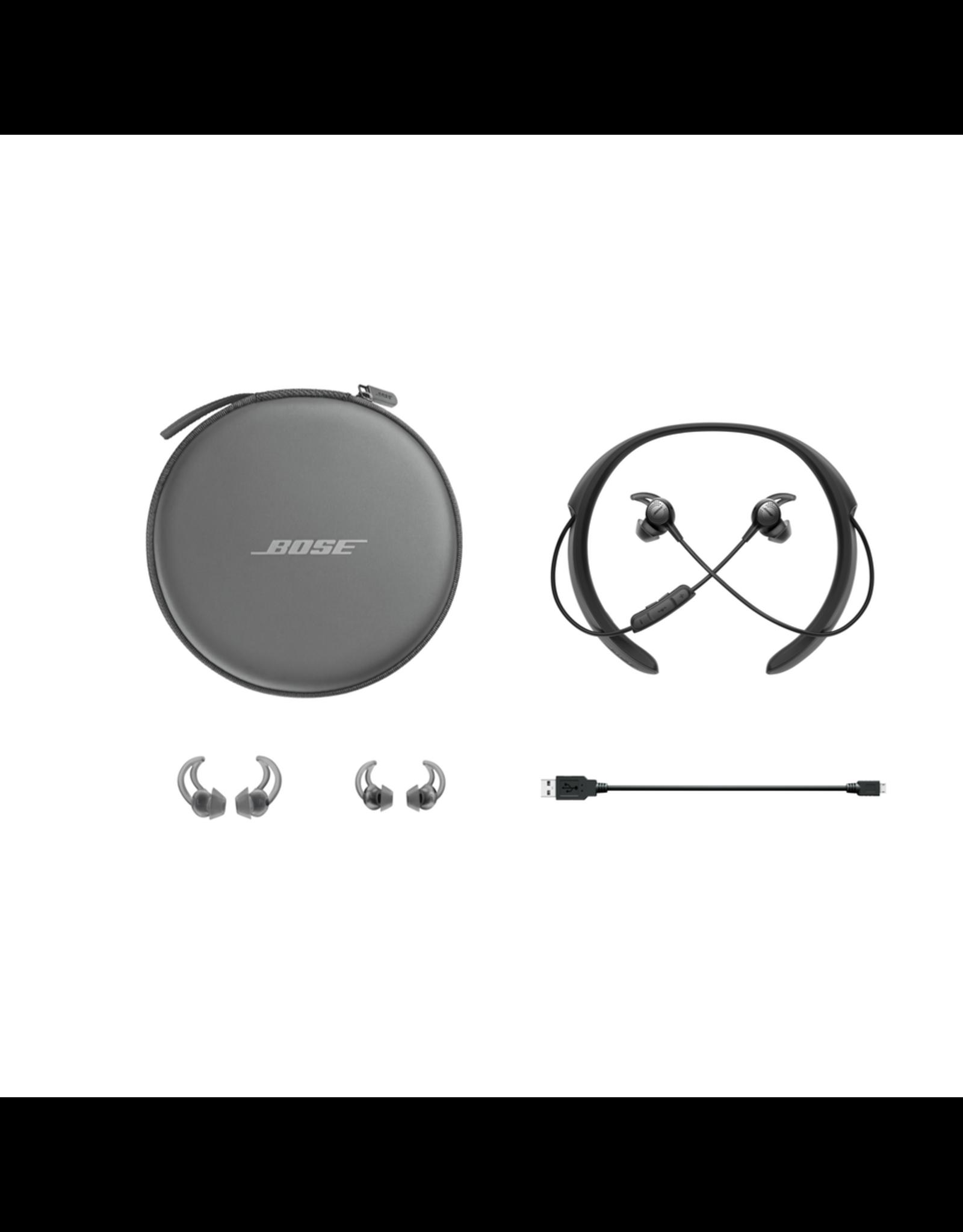 BOSE BOSE QC30 Wireless In-Ear Noise Cancelling Headphones BLACK