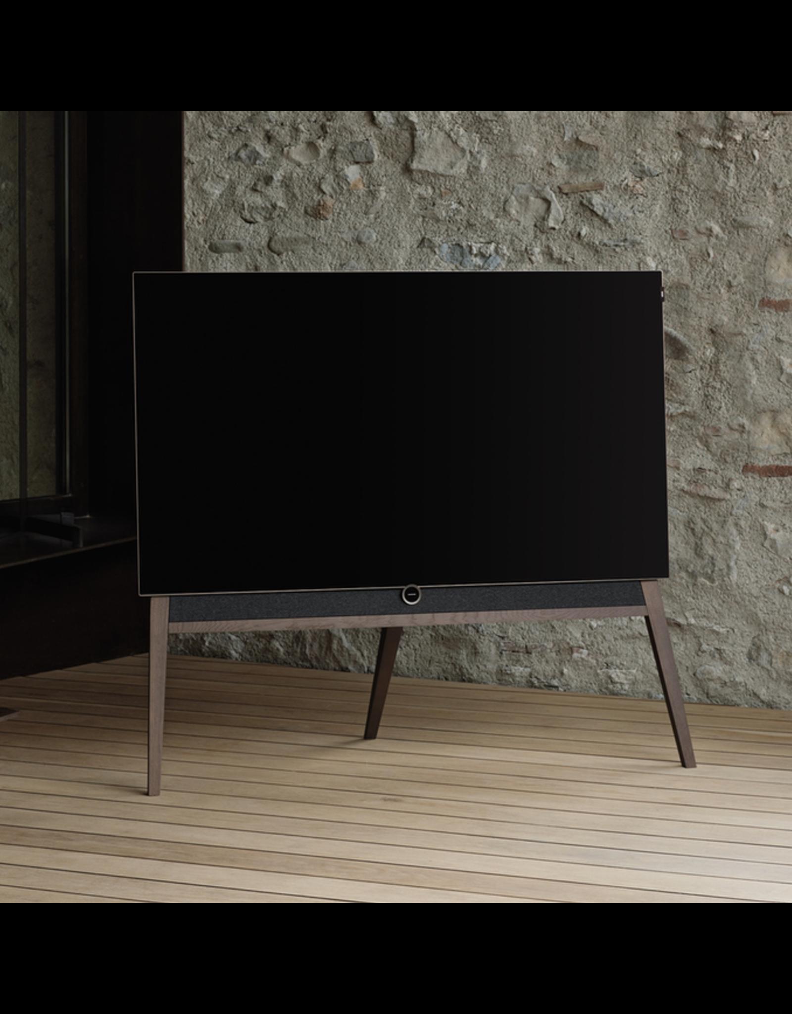 LOEWE LOEWE bild 5.65 DR+ UHD OLED Television w/Oak Floor Stand