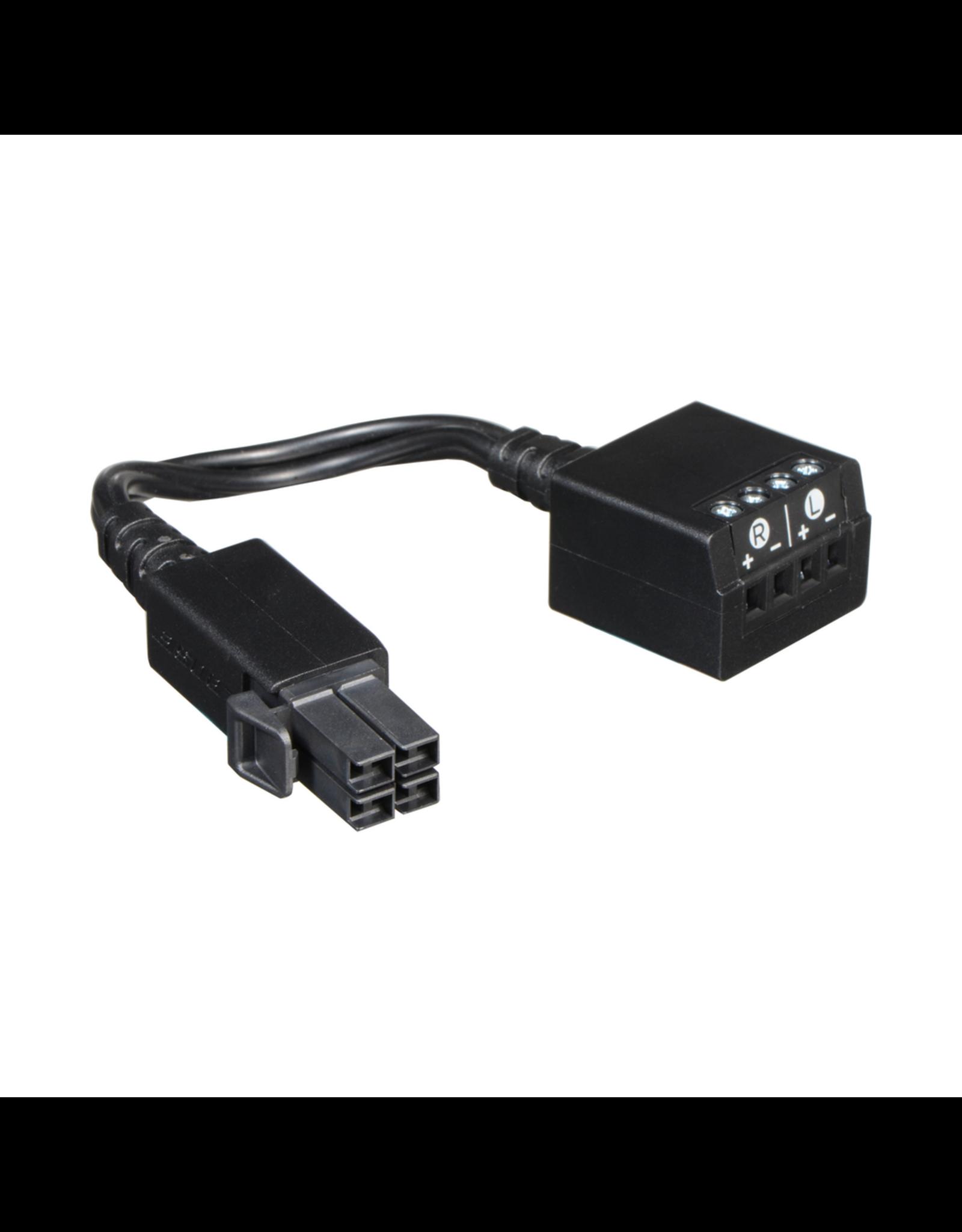 BOSE BOSE LS 600/650 Rear Speaker 4-pin Plug to Speaker Cable Adaptor