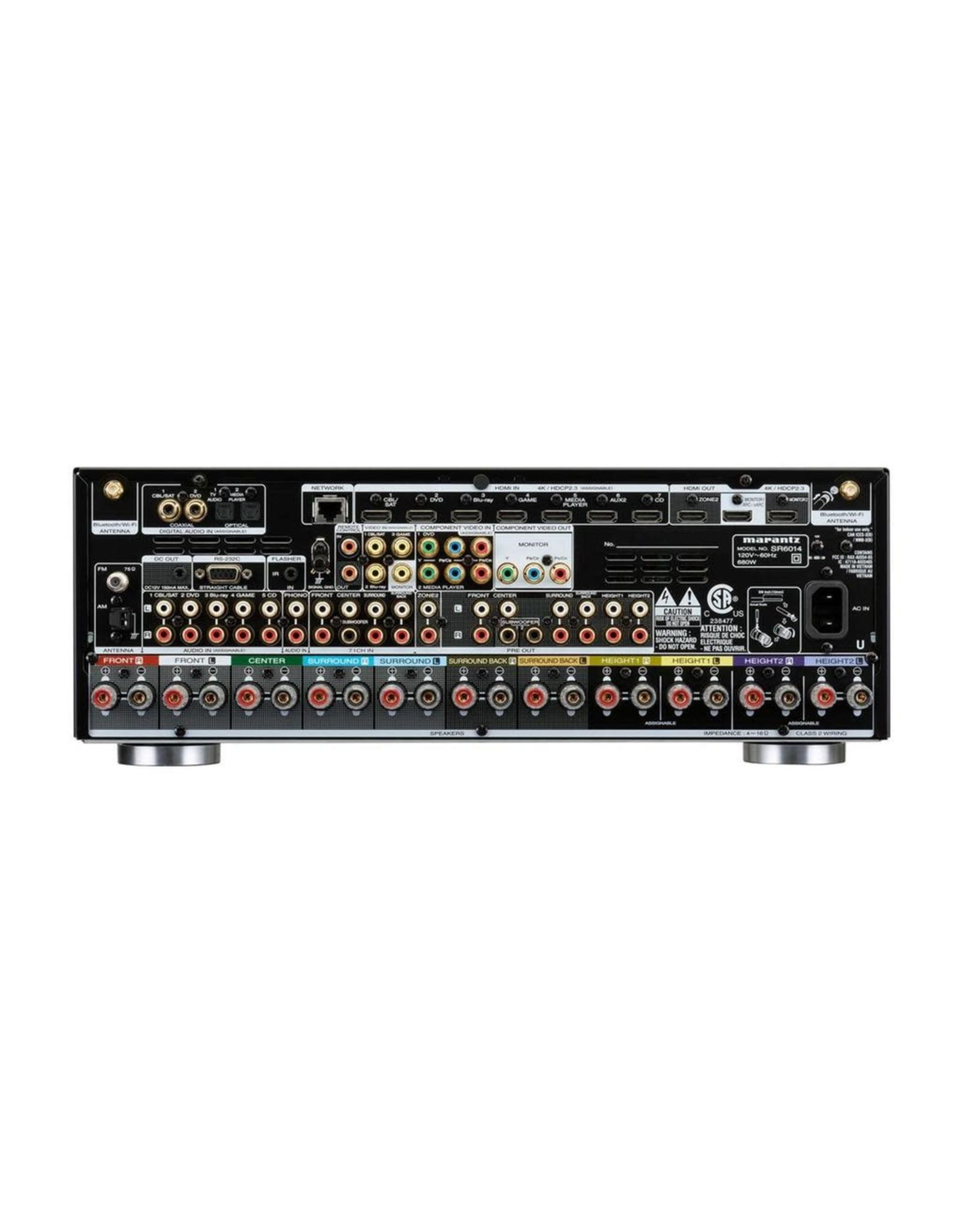 MARANTZ MARANTZ SR6014 9CH Receiver w/Heos BLACK