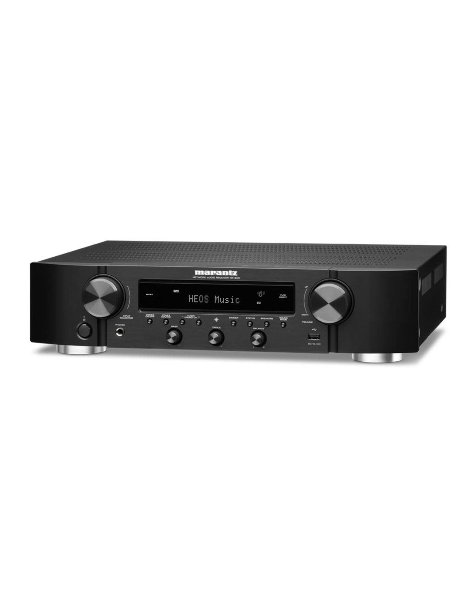 MARANTZ MARANTZ NR1200 Stereo Receiver w/Heos BLACK
