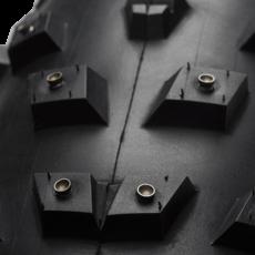 49N Wrathchild Tire - 26 x 4.6, Tubeless, Folding, Black, 120tpi, 224 XL Concave Carbide Aluminum Studs