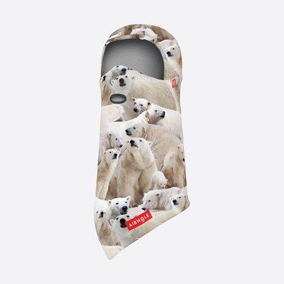 Airhole Junior Polar Balaclava Hinge-Polar Bears