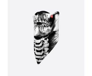Airhole Facemask Standard-skeleton