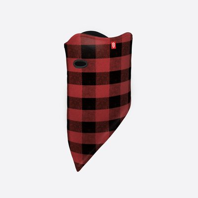 Airhole Facemask Standard-Red Buffalo