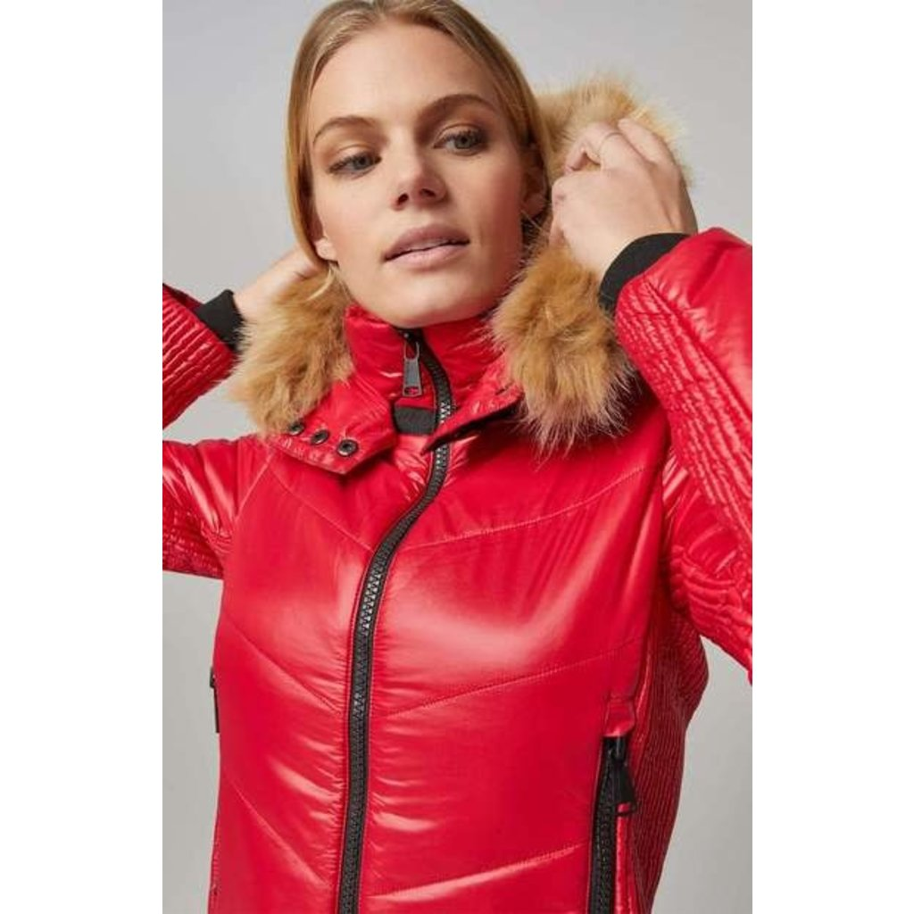 Alp N Rock Valbella Jacket Red