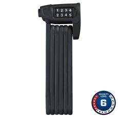 Abus Bordo Lite 6150, Folding lock with combination, 85cm (2.8'), Black