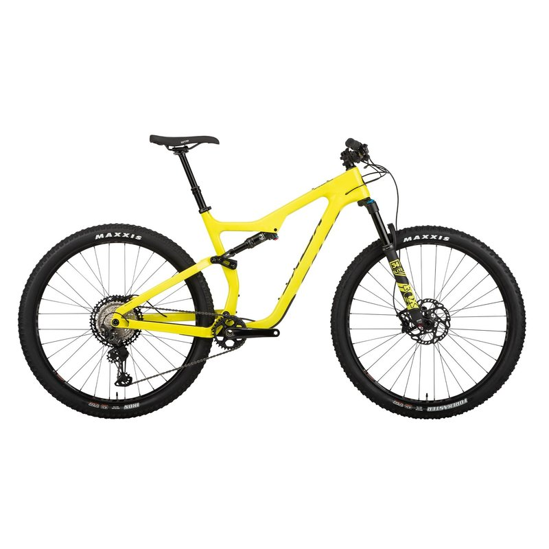 """Salsa Spearfish Carbon XT 29"""" Carbon, Yellow 2021"""