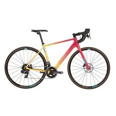 Salsa Warroad Force AXS Bike - 700c, Carbon, Pink/Yellow Fade, 54.5cm Demo
