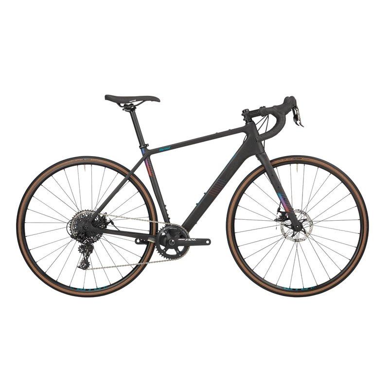 Salsa Warroad Apex 1 Bike - 700c, Carbon, Raw, 59cm