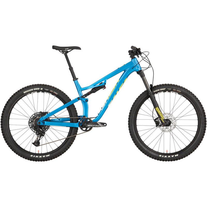 Salsa Rustler SX Eagle Bike - 27.5, Aluminum, Blue, 2021