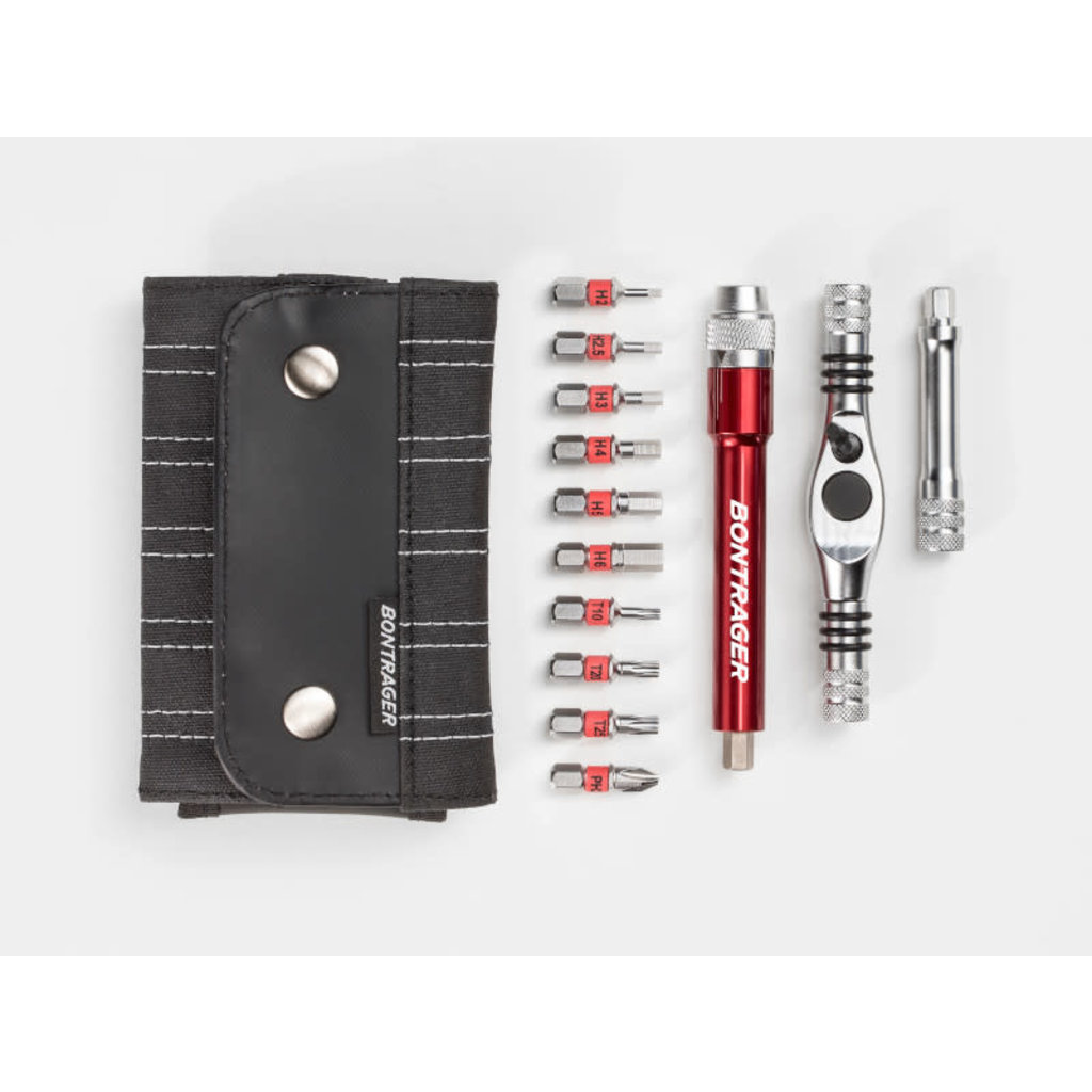 Bontrager Pro Multi Ratchet Tool Steel Silver