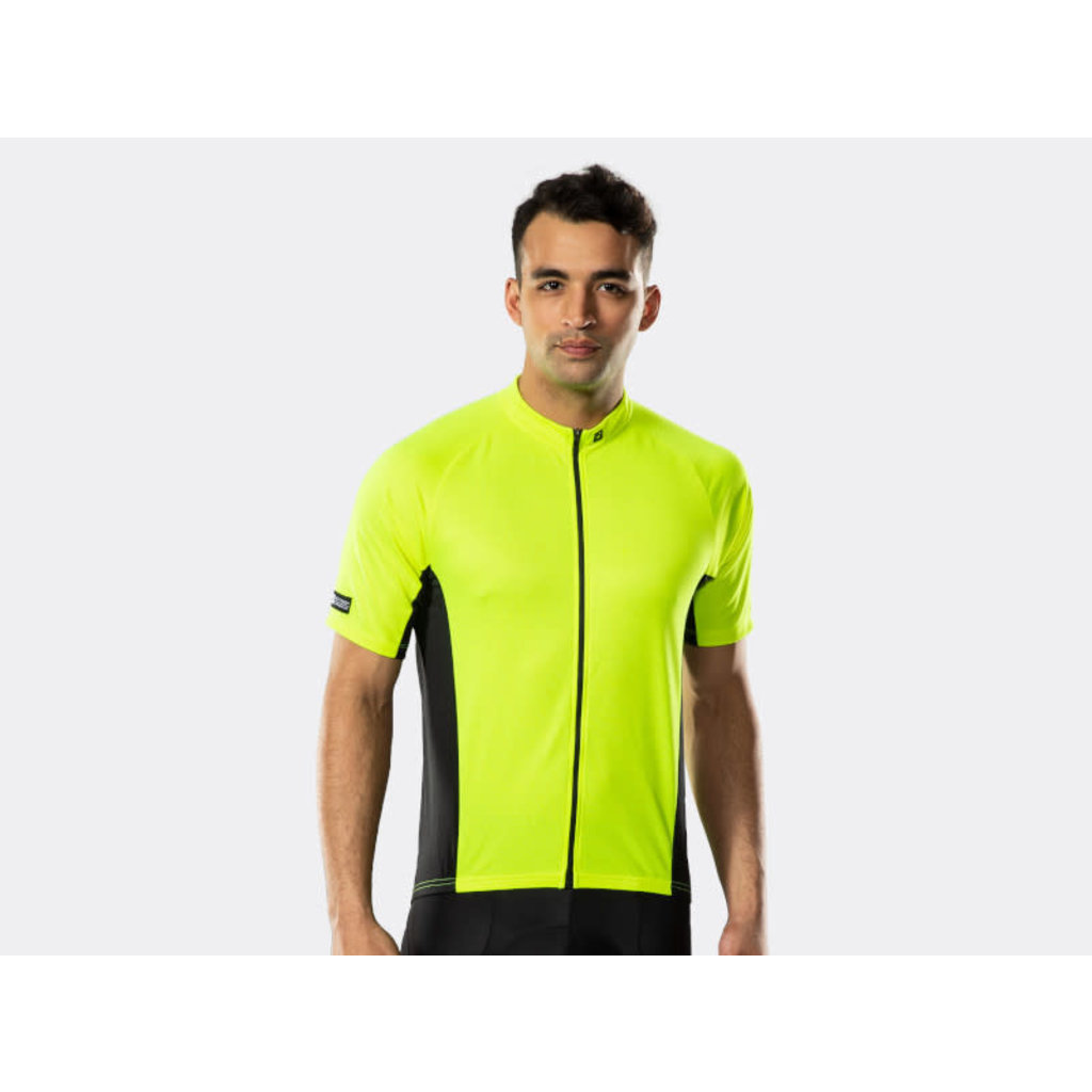 Bontrager Solstice Cycling Jersey Visibility Yellow
