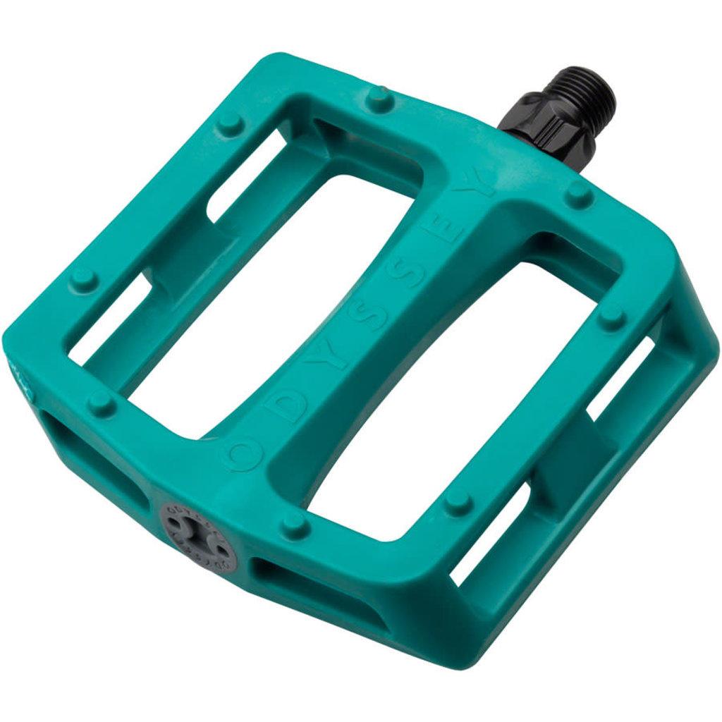 Odyssey Odyssey Grandstand Pedals - Platform Green