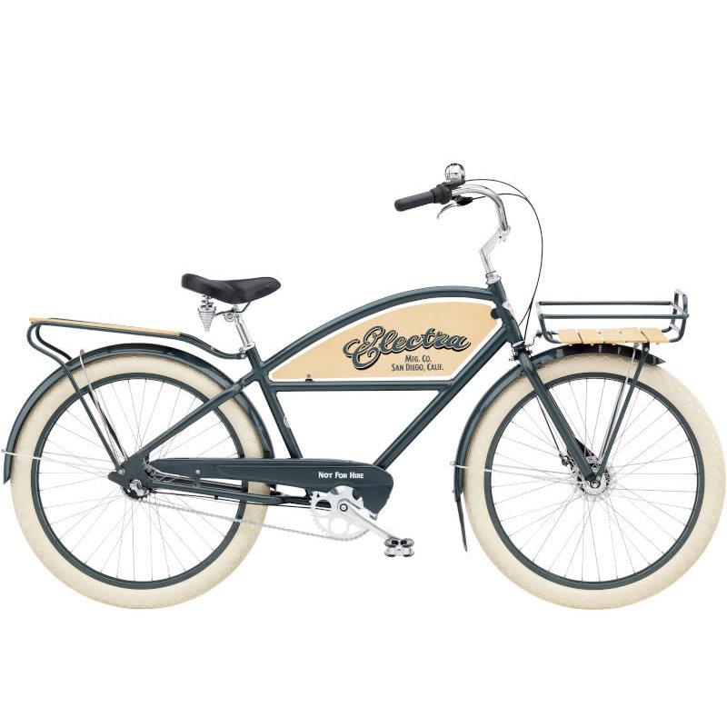 Electra Delivery 3I Men's 26 (2021) Chicago Grey